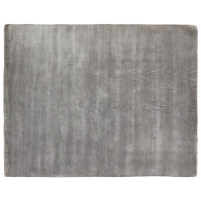 Dove Hand-Woven Wool Gray Area Rug Rug Size: Rectangle 6 x 9