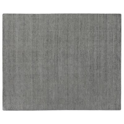 Catalina Hand Woven Silk Gray Area Rug Rug Size: Rectangle 14 x 18