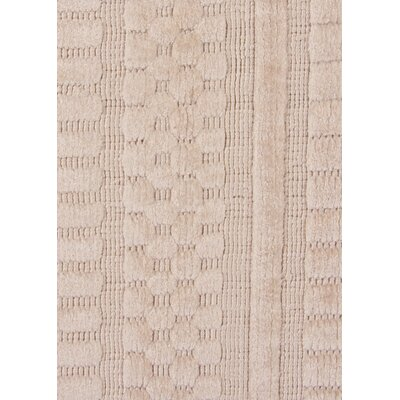 Addison Hand-Woven Beige Area Rug Rug Size: Rectangle�9 x 12