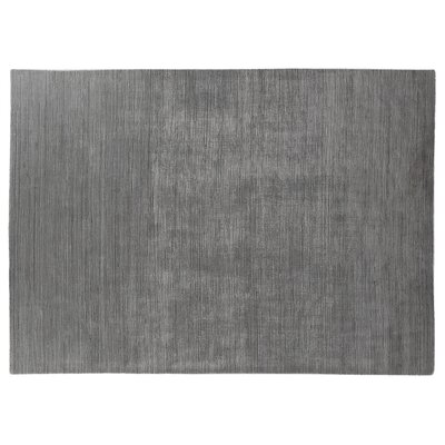 Palazzo Hand-Woven Gray Area Rug Rug Size: Rectangle 14 x 18
