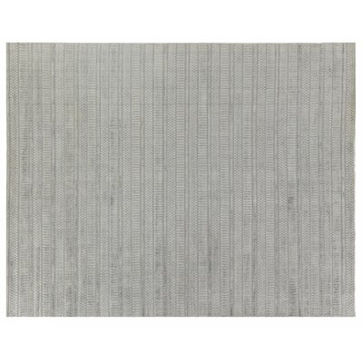 Addison Hand Woven Silk Dark Gray Area Rug Rug Size: Rectangle 9 x 12