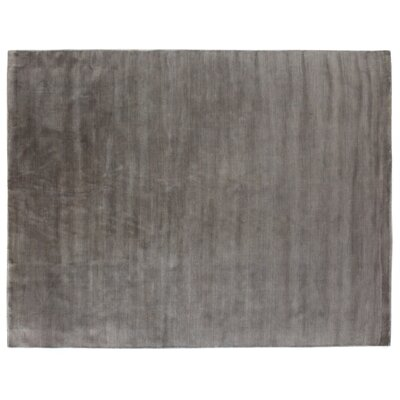 Dove Hand-Woven Wool Slate Area Rug Rug Size: Rectangle 8 x 10