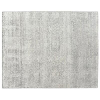 Koda Hand-Woven Gray Area Rug Rug Size: Rectangle 8 x 10