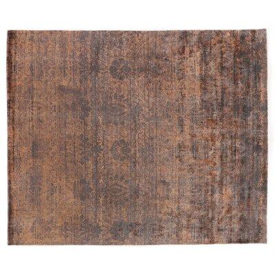 Koda Hand-Woven Silk Copper Area Rug