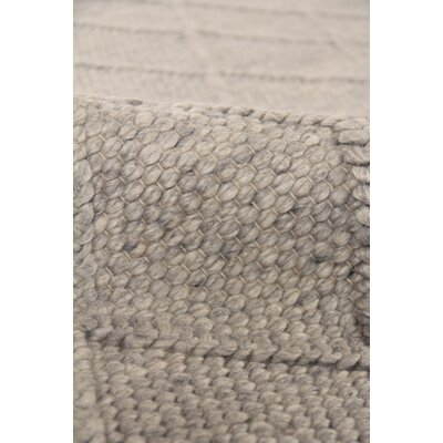 Brentwood Hand-Woven Wool Beige Area Rug Rug Size: Rectangle�8 x 10