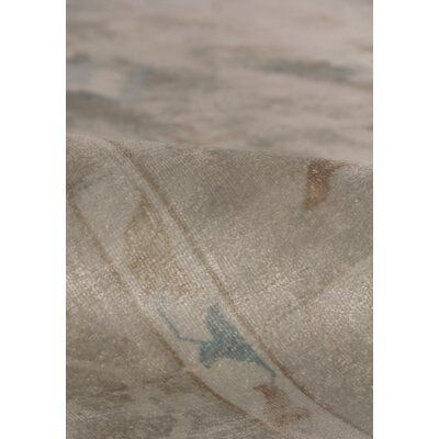Koda Hand-Woven Beige Area Rug Rug Size: Rectangle 8 x 10