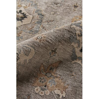 Museum Hand-Knotted Brown Area Rug Rug Size: Rectangle�12 x 15