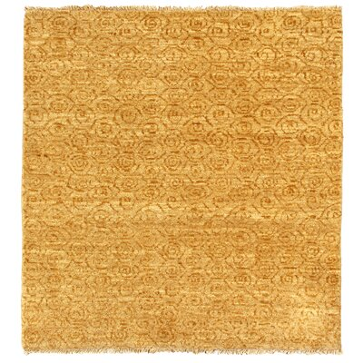 Metropolitan Hand Knotted Wool Ivory/Gold Area Rug