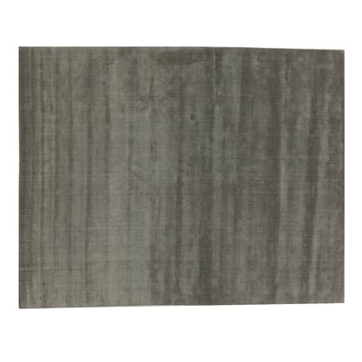 Smart Gem Hand-Woven Wool Chocolate Area Rug Rug Size: Rectangle 5 x 8