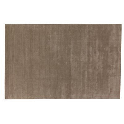 Smart Gem Hand-Woven Wool Brown Area Rug Size: Rectangle 5 x 8