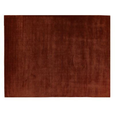 Smart Gem Hand-Woven Wool Burgundy Area Rug Rug Size: Rectangle 15 x 20