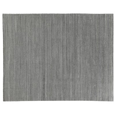 Vive Hand-Knotted Wool/Silk Gray Area Rug Rug Size: Rectangle 9 x 12