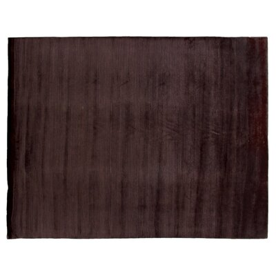 Super Tibetan Hand-Knotted Mauve Area Rug Rug Size: Rectangle 6 x 9