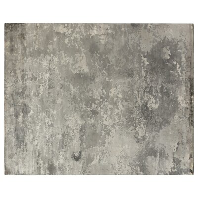Koda Hand-Woven Silver Area Rug Rug Size: Rectangle 8 x 10