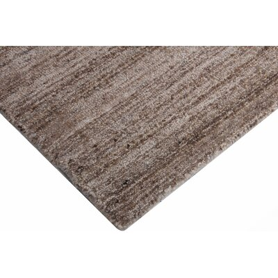 Gabrielle Tweed Hand-Tufted Wool Brown Area Rug Rug Size: Rectangle 8 x 10