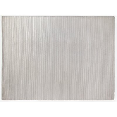 Metro Hand-Knotted Wool Gray Area Rug