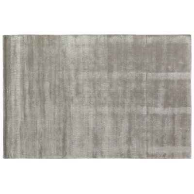 Smart Gem Hand-Woven Wool Gray Area Rug Rug Size: Rectangle 15 x 20