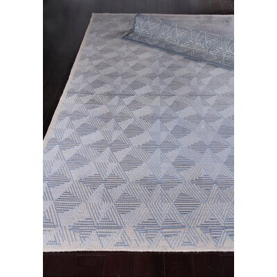 Pavillion Wool Blue/Silver Area Rug Rug Size: Rectangle 12 x 15