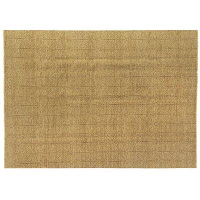 Metropolitan Hand Knotted Wool Beige Area Rug