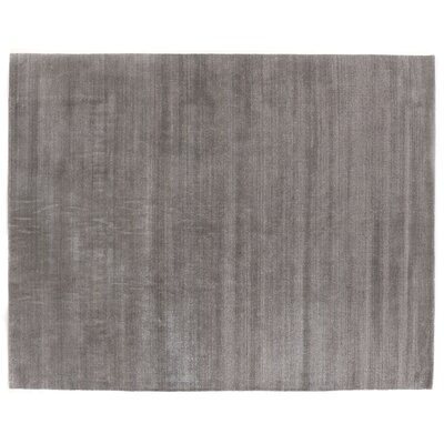 Sanctuary Hand-Woven Silk Brown Area Rug Rug Size: Rectangle 14 x 18