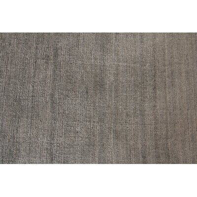 Sanctuary, Rayon from Bamboo Silk, Light Gray (8'x10') Area Rug