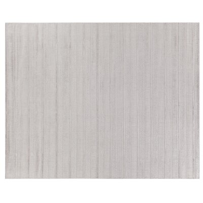 Addison Hand-Woven Aluminum Area Rug Rug Size: Rectangle 12 x 15