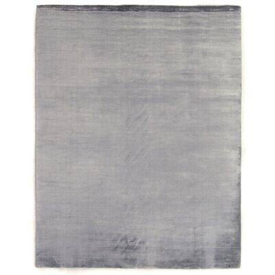 Dove Hand-Woven Gray Area Rug Rug Size: 10 x 14