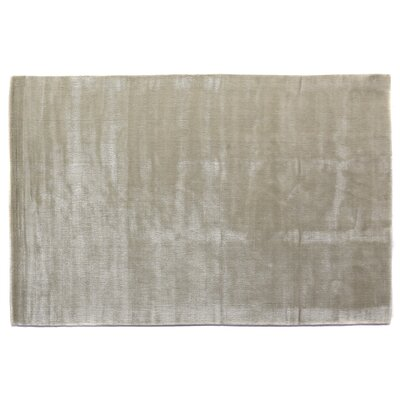 Smart Gem Hand-Woven Linen Area Rug Rug Size: 8 x 10
