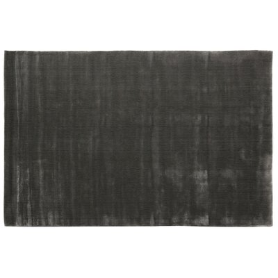 Smart Gem Hand-Woven Platinum Area Rug Rug Size: 9 x 12