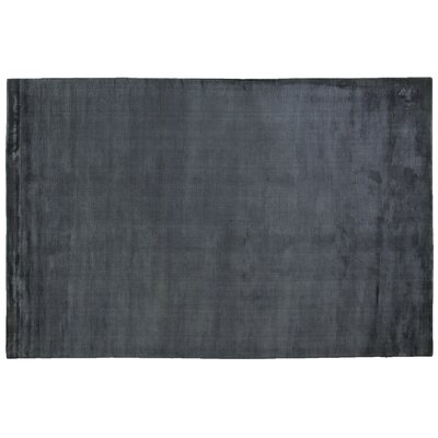 Dove Courduroy Hand-Woven Navy Area Rug Rug Size: 6 x 9