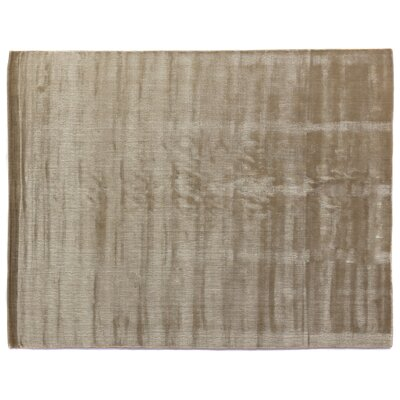 Smart Gem Hand-Woven Citrine Area Rug Rug Size: 8 x 10