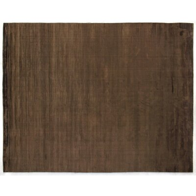 Courduroy Chocolate Area Rug Rug Size: 10 x 14