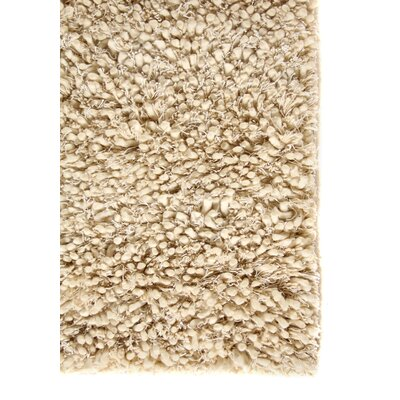 Sumo Handmade Shag Wool Ivory Area Rug Rug Size: Rectangle 8 x 10