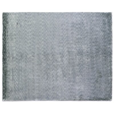 Softest Touch Hand-Woven Blue Area Rug Rug Size: 6' x 9'