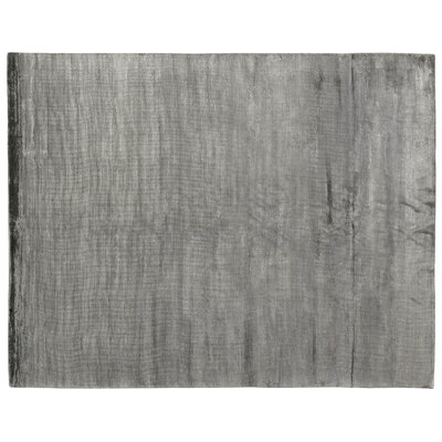 Dove Courduroy Hand-Woven Dark Gray Area Rug Rug Size: 8 x 10