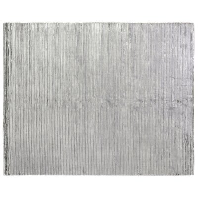 High Low Hand-Woven Aqua Area Rug Rug Size: 9 x 12