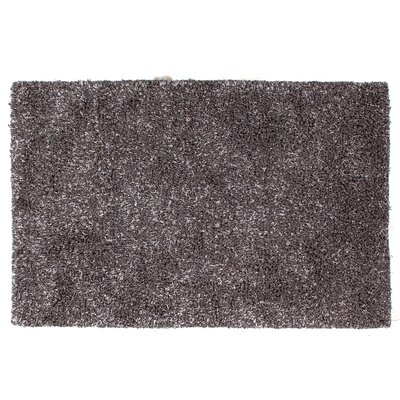 Sumo Shag and flokati Wool Gray Area Rug Rug Size: 8 x 11