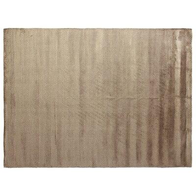 Herringbone Hand-Woven Khaki Area Rug Rug Size: 9 x 12