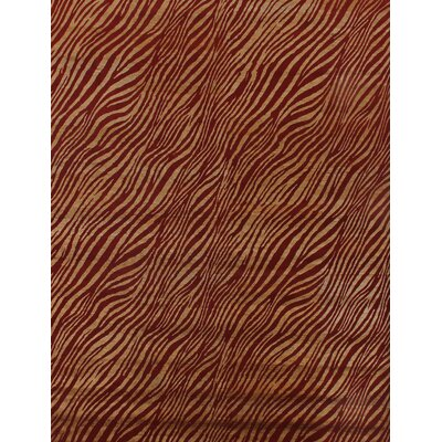 Modern Wilderness Red/Gold Area Rug Rug Size: 8 x 10