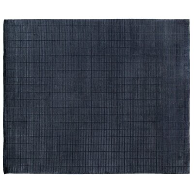 Mini Bars Navy Area Rug Rug Size: 8 x 10