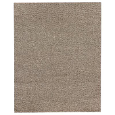 Honeycomb Hand-Woven Wool Beige Rug Rug Size: Rectangle 12 x 15
