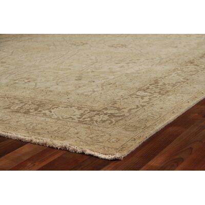 Fine Serapi, New Zeland Wool, Light Beige Area Rug