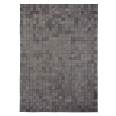 Natural Hide Hand-Tufted Cowhide Gray Area Rug