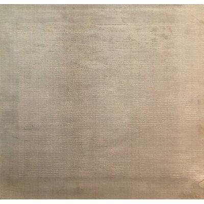 Cut Dove, Art Silk, Light Beige (3 Square) Rug