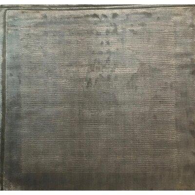 Cut Dove, Art Silk, Dark Gray (3 Square) Rug