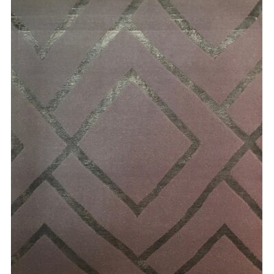 Metro-Velvet Hand-Knotted Silver/Gray Area Rug
