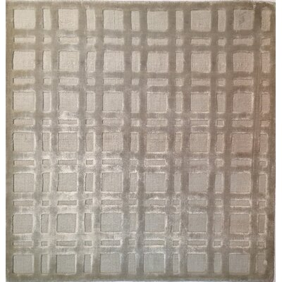 High Low Silver Area Rug