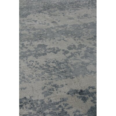 Koda Hand Woven Silk Ocean Area Rug Rug Size: Rectangle 9 x 12