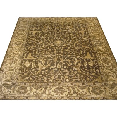 Sultanabad Hand Woven Wool Tobacco Area Rug Rug Size: Rectangle 9 x 12