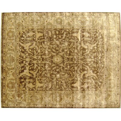 Sultanabad Hand Woven Wool Tobacco Area Rug Rug Size: Rectangle 10 x 14